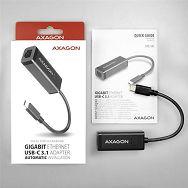 AXAGON ADE-SRC Type-C USB3.1 - Gigabit Ethernet 10/100/1000