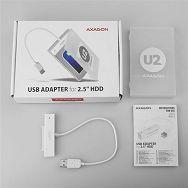 AXAGON ADSA-1S USB2.0 - SATA HDD/SSD 2,5