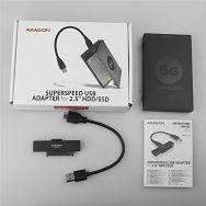 AXAGON ADSA-1S6 USB3.0 - SATA HDD/SSD 2,5