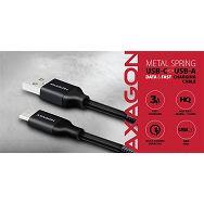 AXAGON BUCM-AM05SB,Kabel USB-C<>USB Type-A,Crna opruga