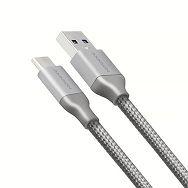 AXAGON BUCM3-AM20G,Kabel USB-C<>USB Type-A,Sivi