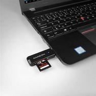 AXAGON CRE-S2 USB 3.0 Type-A čitač memorijskih kartica SD/mi