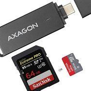 AXAGON CRE-S2C USB 3.0 Type-C čitač memorijskih kartica SD/m