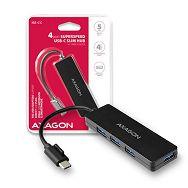 AXAGON HUE-G1C 4 x USB3.2 Gen1 USB HUB SLIM Type-C