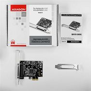 AXAGON PCEA-P1 PCI-Express Adapter,1xParallel Port+LP limić