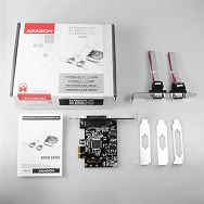 AXAGON PCEA-PS PCI-Express Adapter,1x Parallel+2xSerial+LP l