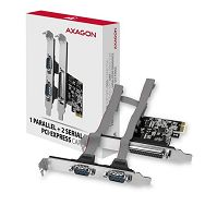 AXAGON PCEA-PSN PCI-Express Adapter,1x Parallel+2xSerial+LP