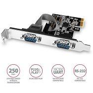AXAGON PCEA-S2N PCI-Express Adapter 2x Serial Port+LP limić