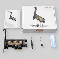 AXAGON PCEM2-N PCI-E 3.0 4x - M.2 SSD NVMe