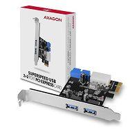 AXAGON PCEU-232VL PCIe Adapter USB 3.2Gen1 x4 (2xfront + 2xi