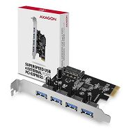 AXAGON PCEU-430VL PCIe Adapter 4x USB3.2