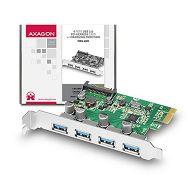 AXAGON PCEU-43V PCIe Adapter 4x USB3.0 + LP limić