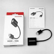AXAGON RVH-VGN, HDMI -> VGA Reduction / Adapter, FullHD