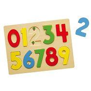 Drvene puzzle 10 kom - brojevi