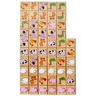 Drveni domino - životinje