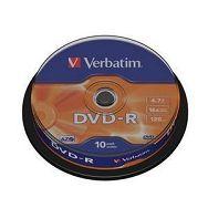 DVD-R MEDIJ VERBATIM 10PK CB (43523)