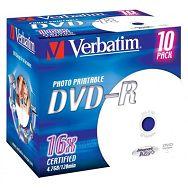 DVD-R MEDIJ VERBATIM 10PK JC P (43521)