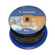 DVD-R MEDIJ VERBATIM 50PK CB P (43533)
