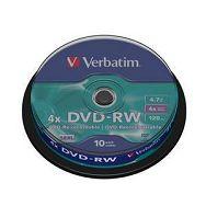 DVD-RW MEDIJ VERBATIM 10PK CB (43552)