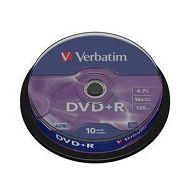 DVD+R MEDIJ VERBATIM 10PK CB (43498)