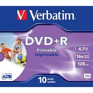 DVD+R MEDIJ VERBATIM 10PK PR J (43508)