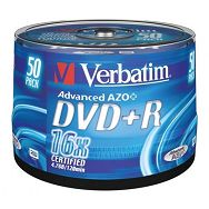 DVD+R MEDIJ VERBATIM 50PK CB (43550)