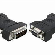 DVI-A to VGA konverter, DVI-A M - VGA 15pin F RETAIL