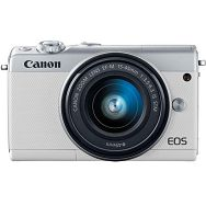 Fotoaparat CANON EOS M100 + 15-45 KIT WH (2210C012AA)