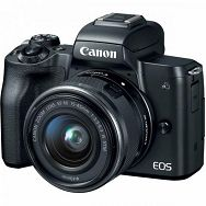 Fotoaparat CANON EOS M50 + 15 45 KIT (2680C070AA)