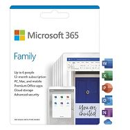 FPP Microsoft 365 Family English Subscr 1YR CEE, 6GQ-01191