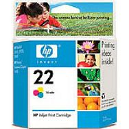 HP tinta C9352AE (no. 22)