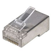 Intellinet konektor RJ45 Cat.5e STP, 100kom, za upleteni kab