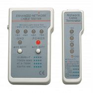 LAN Cable tester, multifunction, RJ45/RJ11