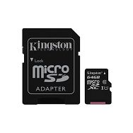 Memorijska kartica  Kingston SD MICRO 64GB Class 10 UHS-I +