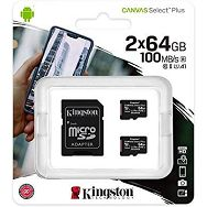 Memorijska kartica  Kingston SD MICRO 64GB Class 10 UHS-I  P