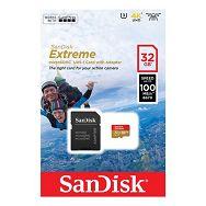 Memorijska kartica MicroSD Sandisk Extreme 32GB + adapter