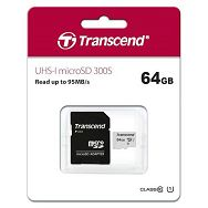 Memoriska kartica SD MICRO 64GB HC Class 10 UHS-I + 1ad 300S