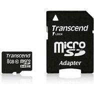 Memorijska kartica Transcend SD MICRO 8GB HC Class 10 + SD a