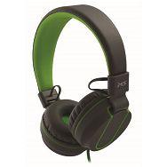 MS FEVER_2 slušalice s mikrofonom, sivo-zelena