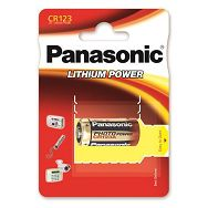 PANASONIC baterije CR-123AL/1BP Photo Lithium
