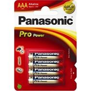 PANASONIC baterije LR03PPG/4BP Alkaline Pro Power