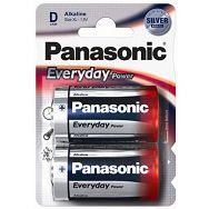PANASONIC baterije LR20EPS/2BP Alkaline Everyday Power