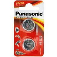 PANASONIC baterije maleCR-2025EL/2B (2 kom)