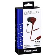 PANASONIC slušalice Crvene Bluetooth RP-NJ310BE-R