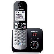 PANASONIC telefon bežični KX-TG6821FXB crni TAM sekretarica