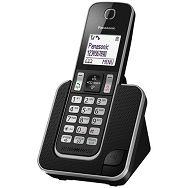 PANASONIC telefon bežični KX-TGD310FXB crni