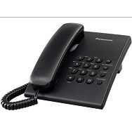 PANASONIC telefon stolni KX-TS500FXB CRNI
