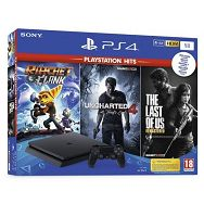 SONY-PlayStation 4 1TB+Rat. and Clank+ Last of Us+Uncharted