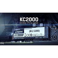 SSD 250GB KIN KC2000 PCIe M.2 2280 NVMe