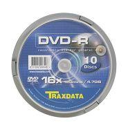 Traxdata DVD-R CAKE 10